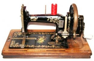 #975 Winselmann Sewing Machine